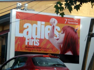 Ladies firts?